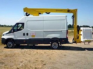 Unregistered - Iveco Daily 50C Panel Van c/w Ascendant A15TVM 15m Access Platform