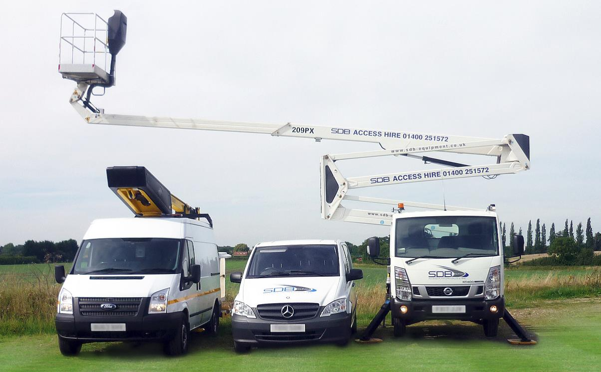 OPERATED & SELF - DRIVE ACCESS HIRE