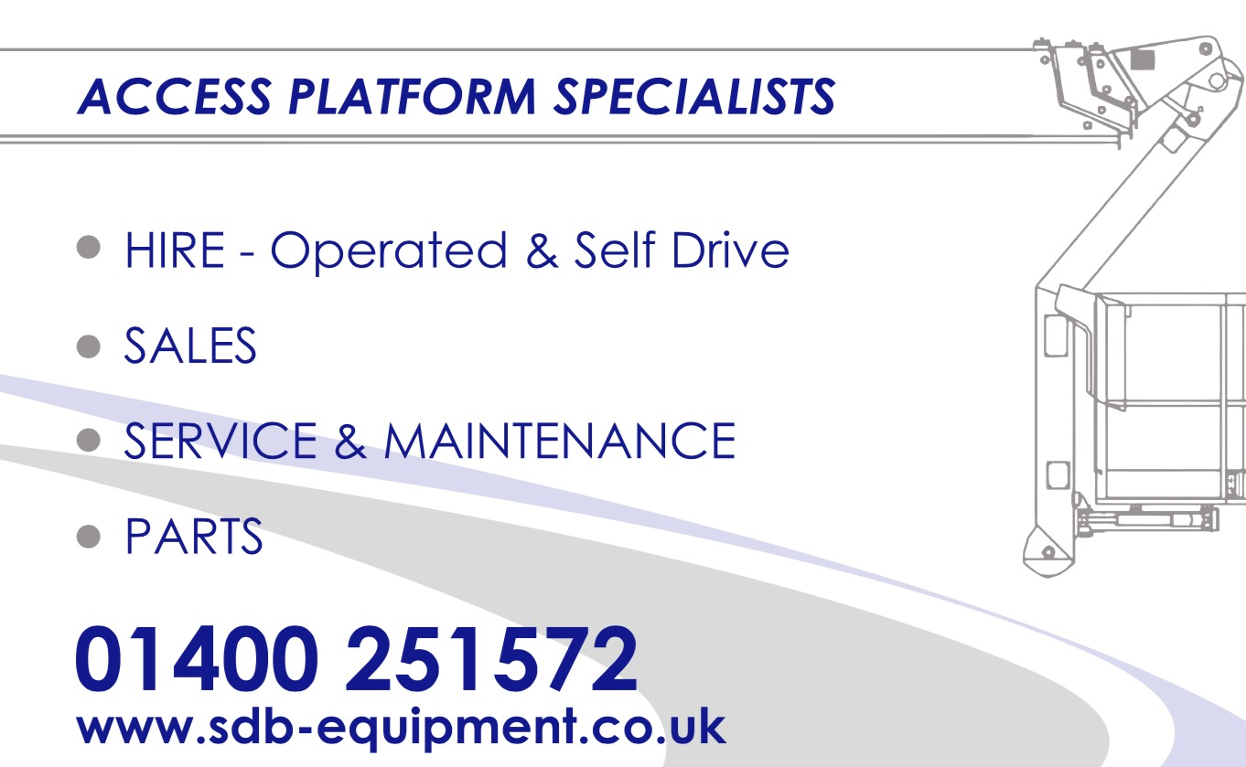 Special Offer on all Operated Van Mounted Access/Cherry Picker Hire!